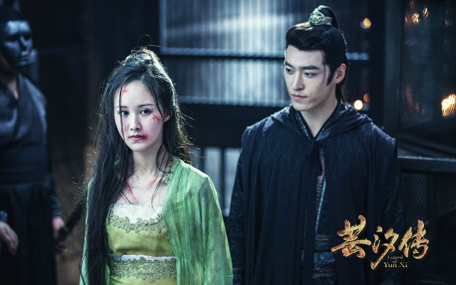 Legend of Yun Xi stills Chinese drama